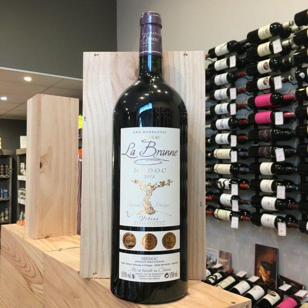la branne mag rotated - Château La Branne 2016 - Médoc 150 cl