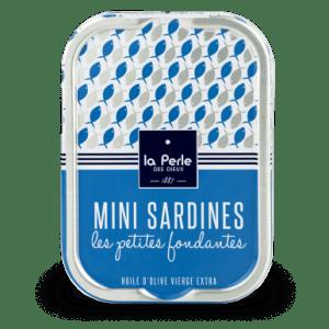 mini sardines - La Perle des Dieux - Mini sardines 115 gr