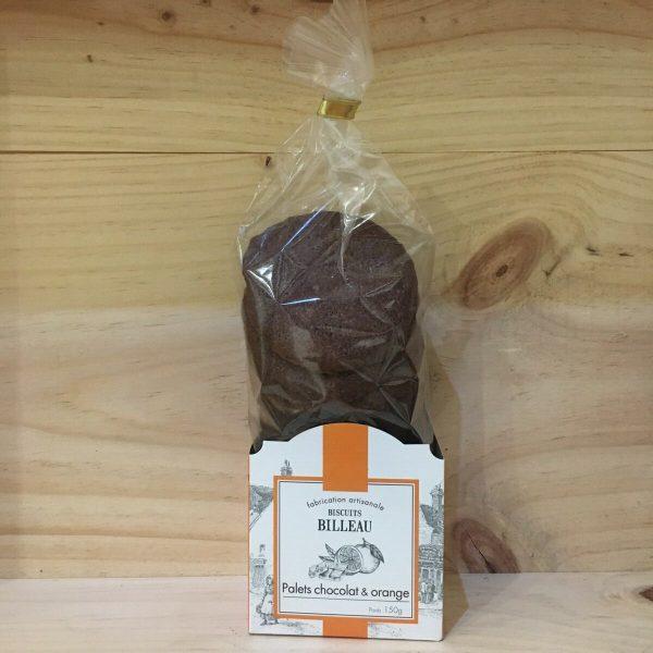 palets choco rotated - Billeau - Palets chocolat et orange 150 gr