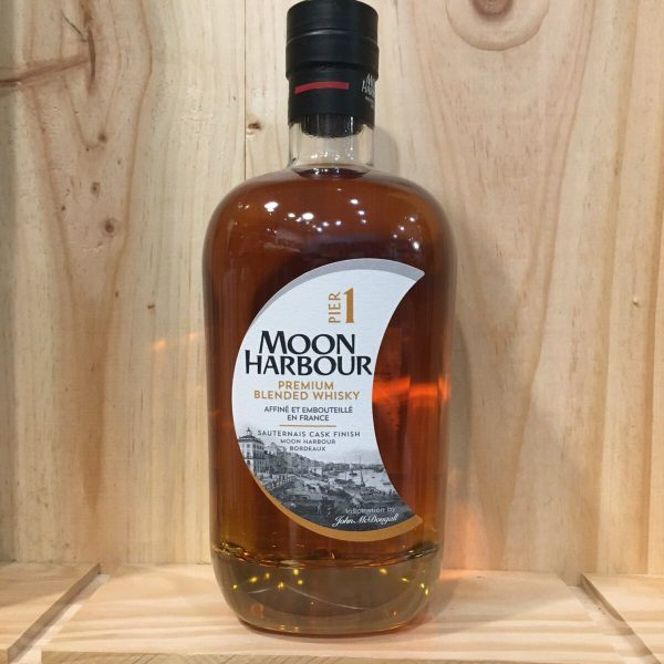 pier1 rotated - Moon Harbour - Pier 1 - Blend Whisky 70cl