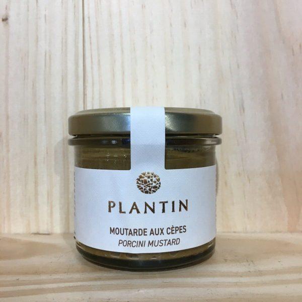 plantin mout cepes rotated - Moutarde aux cèpes Plantin 110 gr
