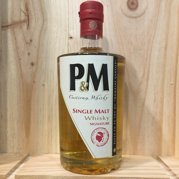 pm rotated - P&M Signature 70cl - Single Malt Whisky