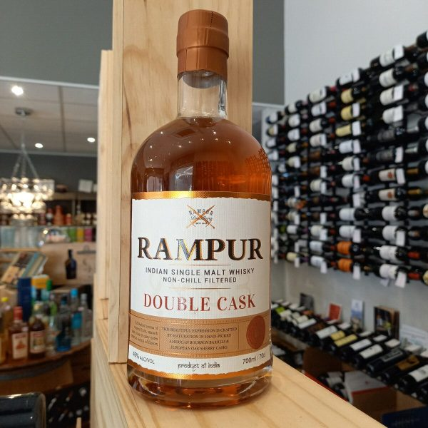 rampur 1 rotated - Rampur Double Cask 70cl - Indian Single Malt Whisky