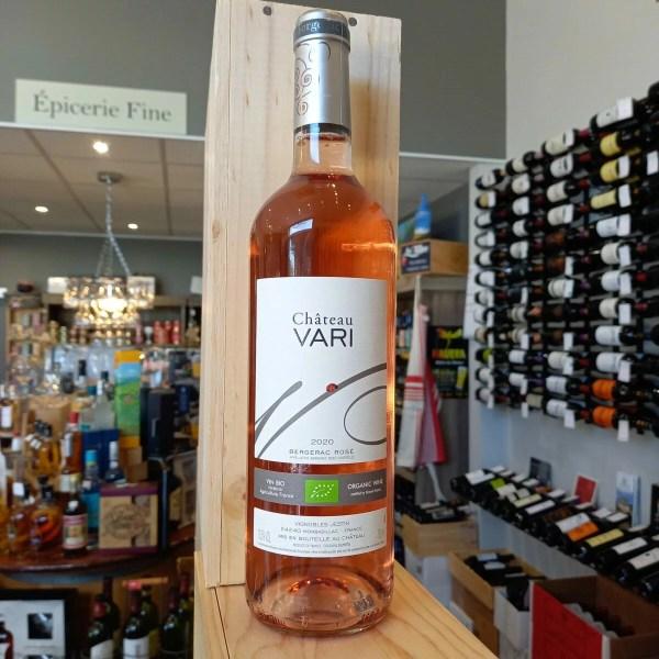 vari rose 2020 rotated - Château Vari rosé 2020 - Bergerac BIO 75cl