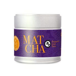 Matcha aromatisé bergamotlemon Le Petit Grain Rieumes Boutique en Ligne