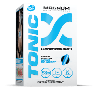 Magnum Nutraceuticals TONIC Natural Test Optimizer