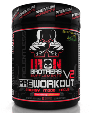 Iron Brothers RELENTLESS V2 Pre-Workout