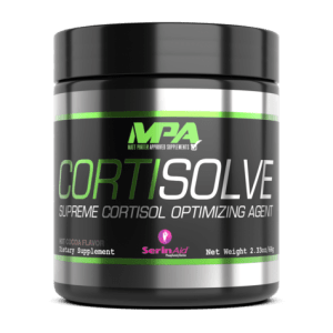 MPA Supplements CORTISOLVE - Cortisol optimising agent