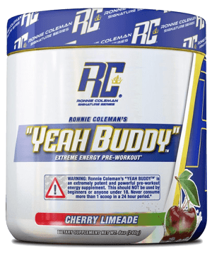 Ronnie Coleman YEAH BUDDY High Potency Pre-Workout - New Formula