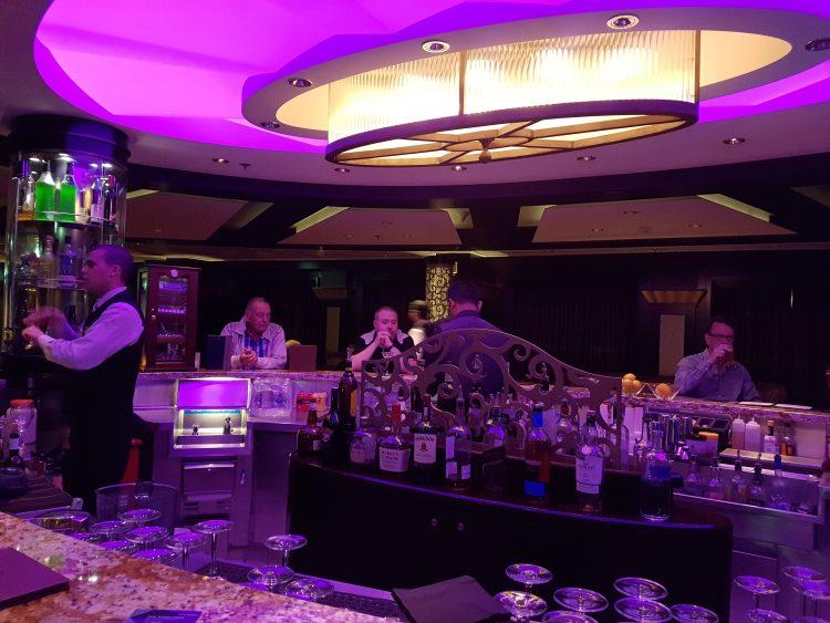 Celebrity Silhouette Martini bar