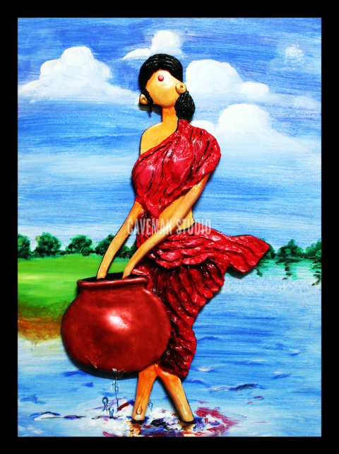 Lady In Pond1