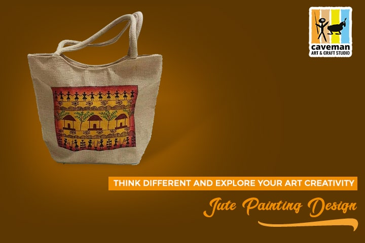 jute painting design