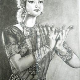 Bharathanatyam lady