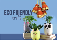 Eco friendly craft classes