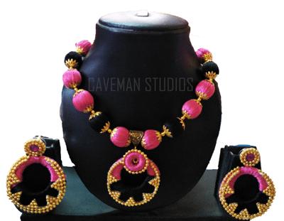 Buy silk thread necklace