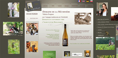site internet de la mechiniere