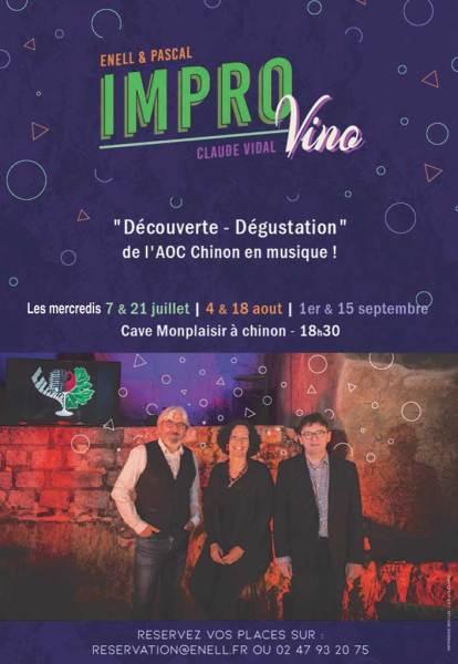 cave monplaisir chinon concert improvino 2021
