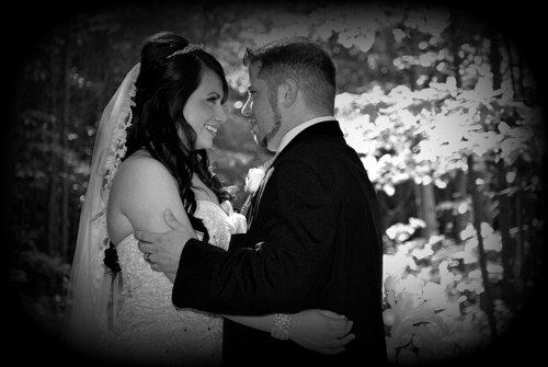 Couple enjoying a special moment a a Dahlonega Wedding Venue