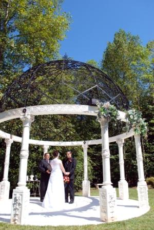 small wedding venues in north Georgia - Castle Old World Gazebo