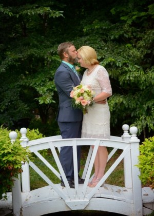 Castle Midlife Weddings Couple