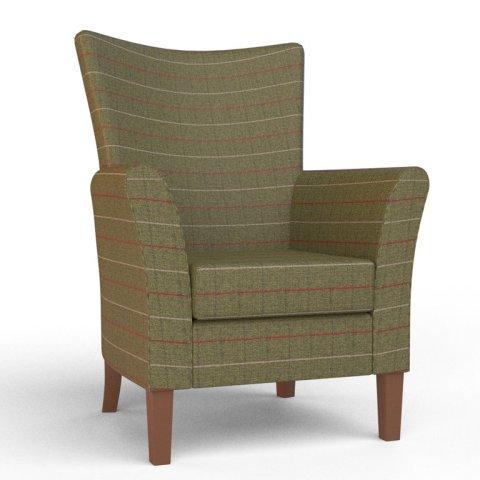 kensington sage green chair