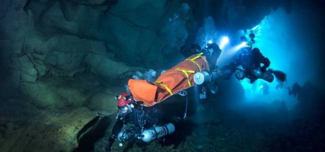 Cave Rescue in Tham Luang Nang Non Cave, Thailand