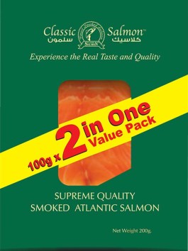 Atlantic Smoked Salmon 2 in 1