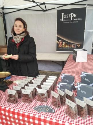 Les truffes au chocolat de chez Joseph
