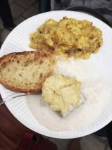 Pressé de poulet aux truffes et châtaignes.