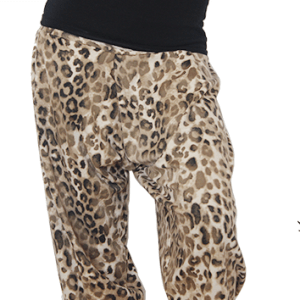 LEOPARD PRINT HAREM PANTS close