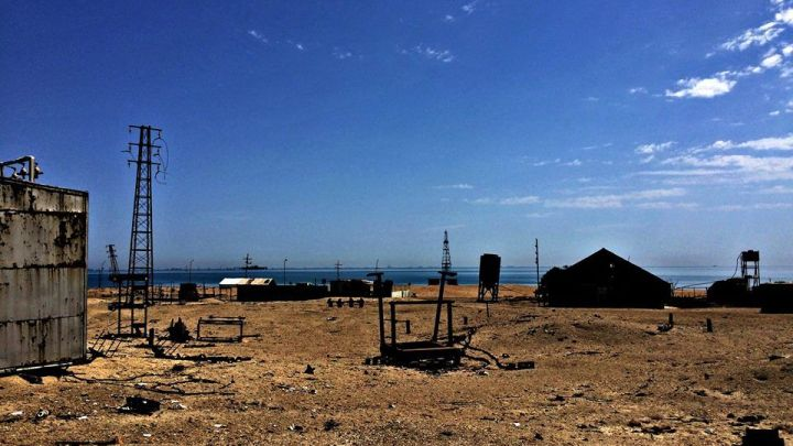 "bulla - A trip to ""Bulla"" - abandoned island of Caspian sea"