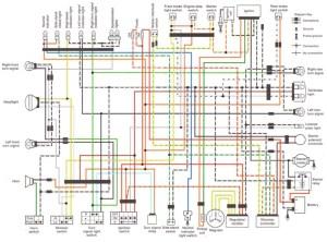 SuzukiSavage  Clymer's Wiring diagram in one image