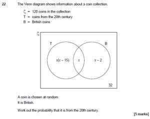 Venn Diagrams, Algebra and the New GCSE | cavmaths