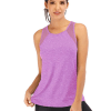 Breathable Mesh Backless Tank Top