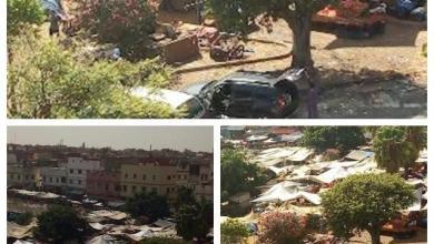 "Photo of معاناة ساكنة عين الشق بالبيضاء تستمر مع سوق""موحى"" العشوائي"