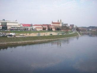 the city river Vilnius