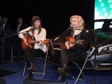 Music performance at Fashion show