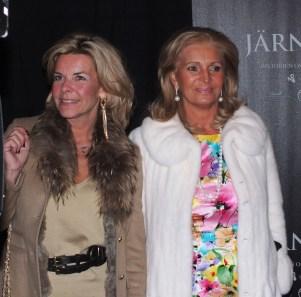 Grete Qviberg med vännina