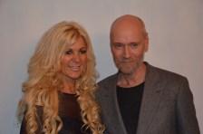 Maria Montazami med Lars Wallin