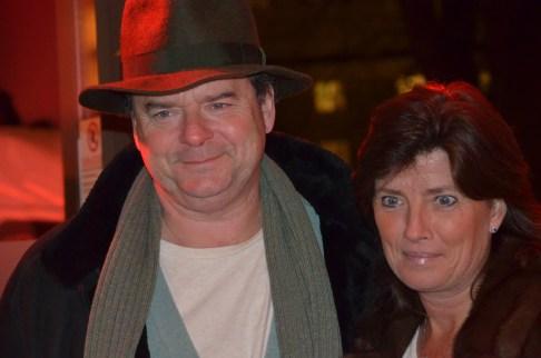 Steffo Törnquist med fru