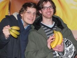 Markus Knappen Johansson och Tom Clear