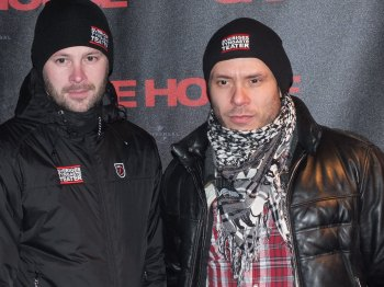 Björn Bengtsson med vän