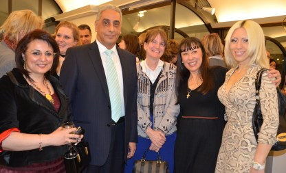 Egypt ambassador with company