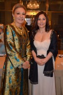 Empress Farah Diba & guest