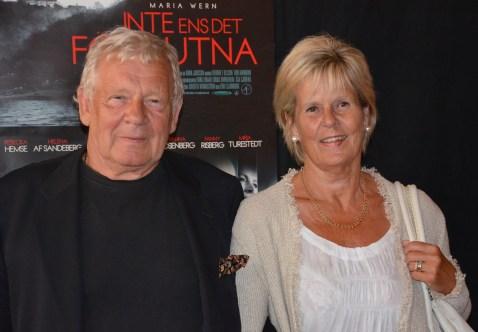 Börje Ahlstedt med fru Birgitta
