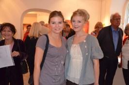 Nicole Schulman med Beatrice Lindberg