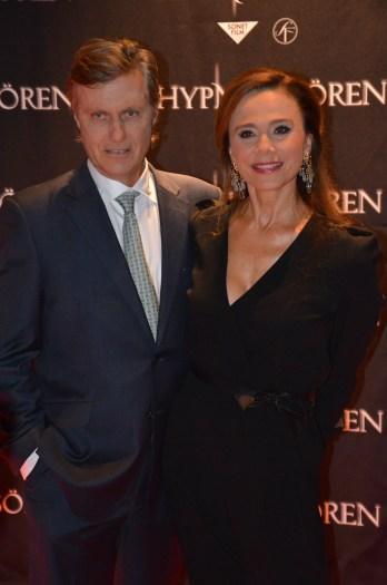 Lasse Hallström & Lena Olin