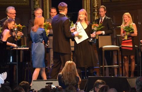 Prisutdelning till Skansen, vinnare av 2012 års pris
