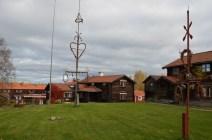 Midsommarstång i Tällberg