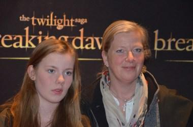 Kristina Axén Olin med dotter